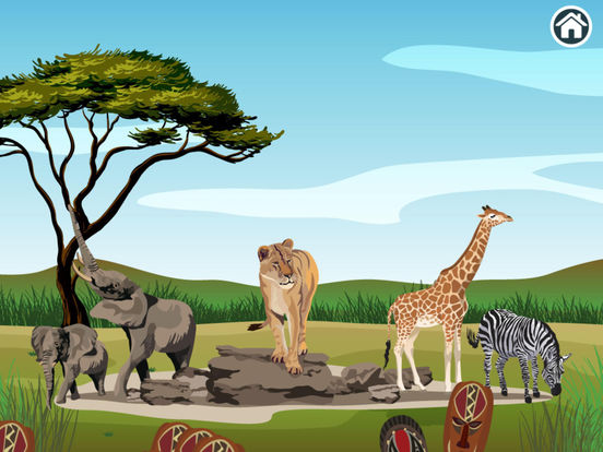 Connect Dots Africa  - Learning Game screenshot 7