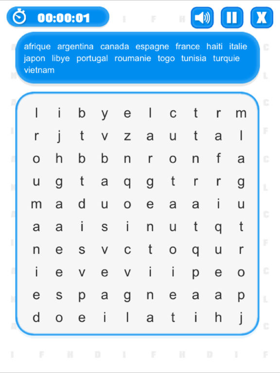 Word Search (Multilingual) screenshot 9