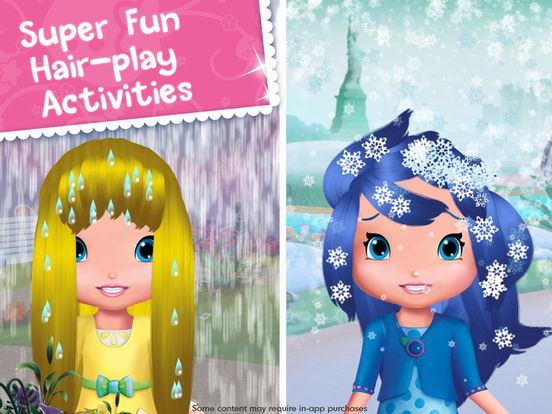 Strawberry Shortcake Holiday Hair - Fashion World screenshot 8