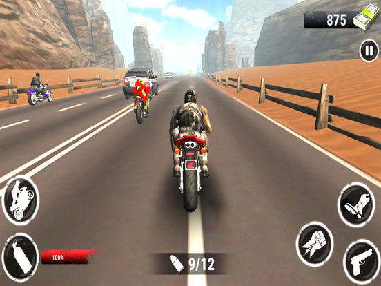 Highway Stunt Bike Riders : 3D Moto Sports Race-r screenshot 5
