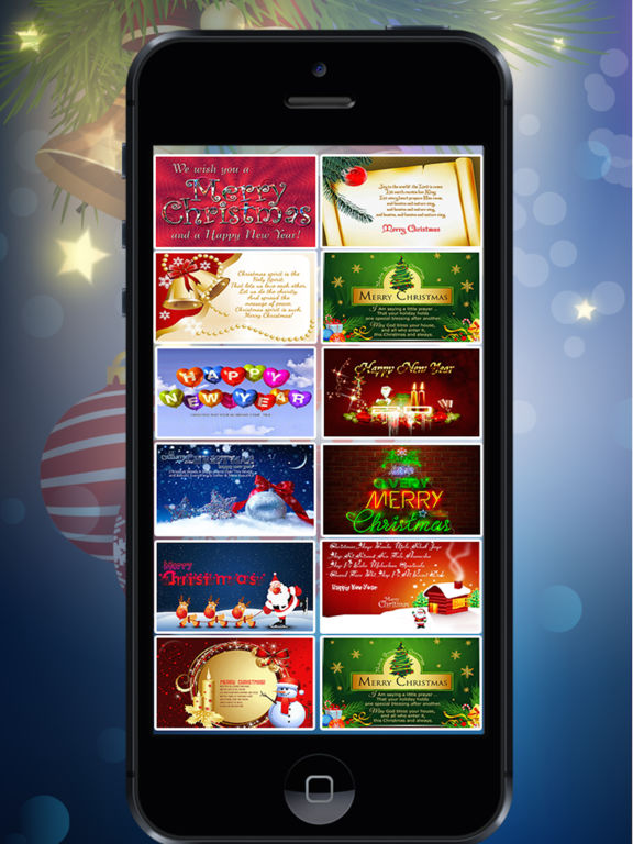 Christmas & Happy New Year Cards screenshot 4