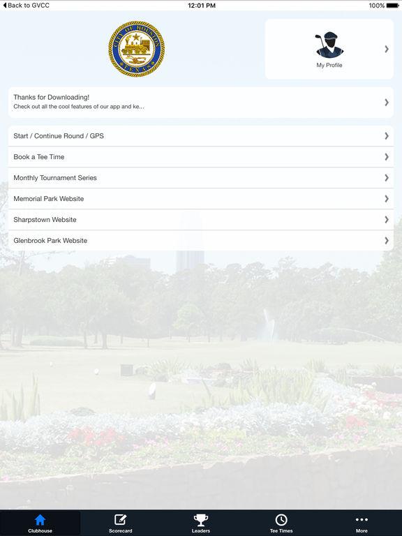 City of Houston Golf Courses screenshot 7