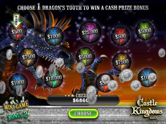 Castle Kingdoms Dragon Reel Slots screenshot 10