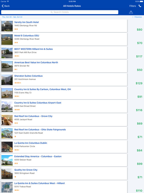 i4columbus - Columbus, OH Hotels & Yellow Pages screenshot 9