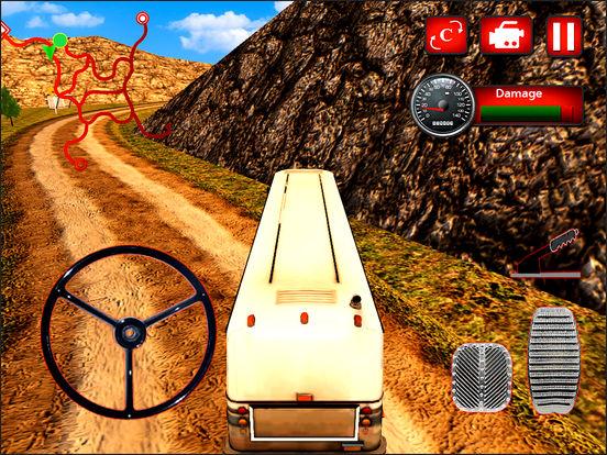 Offroad Hill Tourist Bus Drive screenshot 5