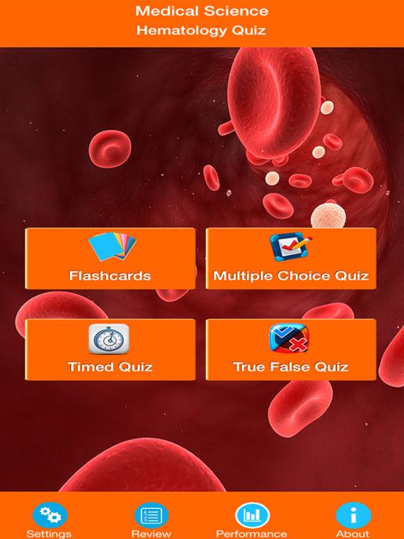 Medical Science : Hematology Quiz screenshot 6
