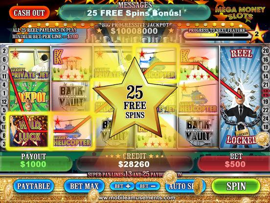 MEGA Money Vegas Slots screenshot 9