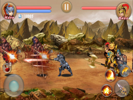 Action RPG-Blade Of Dragon Hunter screenshot 9