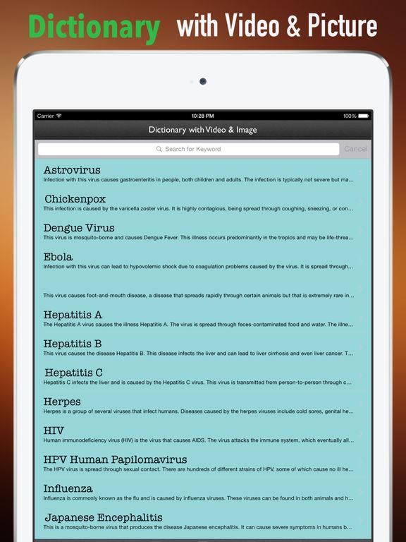 Viruses Glossary and Cheatsheet:Study Guide screenshot 9