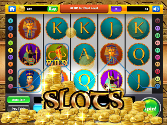 Cleopatra's Lucky Slots - Mega Gold Pyramid Casino screenshot 8
