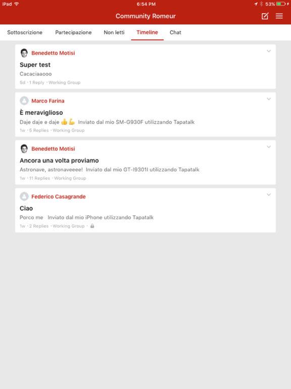 Romeur Community screenshot 4