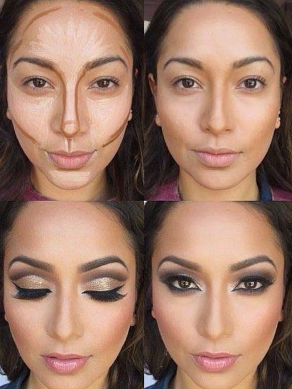 Contour Makeup Contouring Guidelines