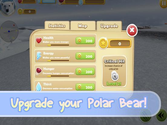 Wild White Polar Bear Simulator Full screenshot 6