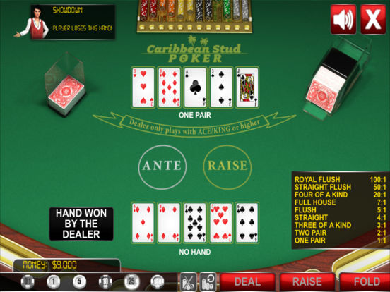 Caribbean Stud Poker ® screenshot 8