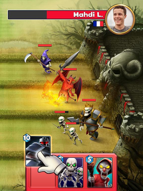 Castle Crush: Clash Cards Game screenshot 7
