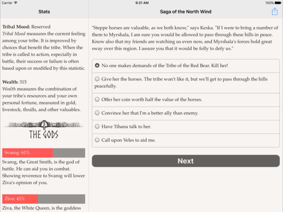 Saga of the North Wind screenshot 9
