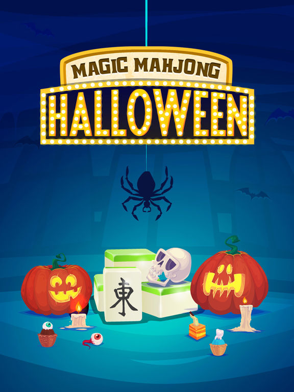 Magic Halloween Mahjong - Haunting Classic Majong screenshot 6