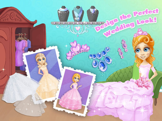 Princess Amy Wedding Salon 2 - No Ads screenshot 9