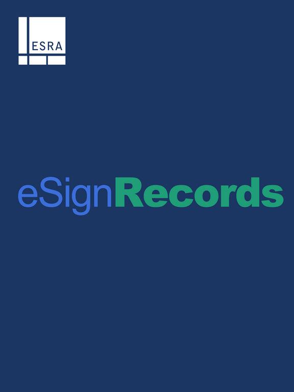 eSignRecords 2016 screenshot 4
