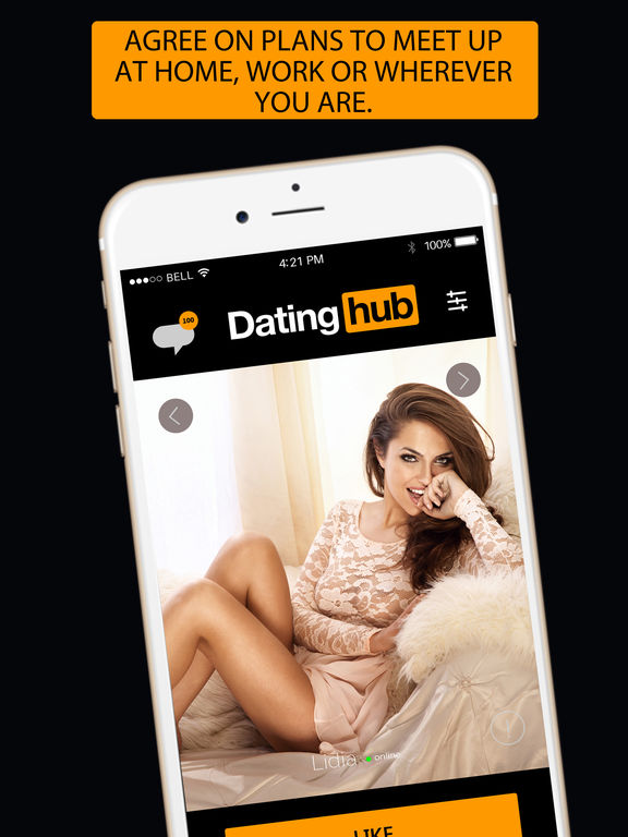 Dating hub -flirt and meet free singles online app screenshot 7