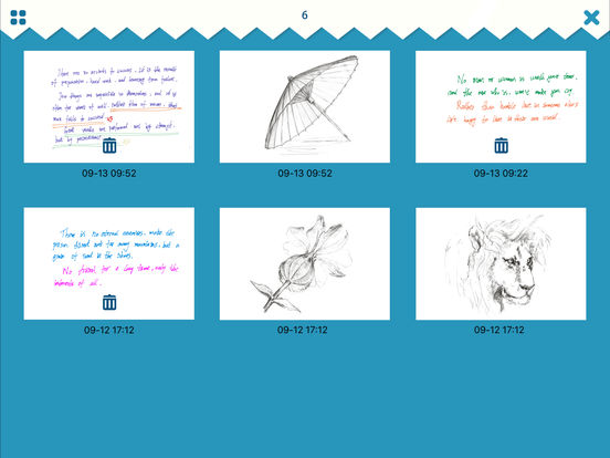 iSketch Pad for iPad and iPhone screenshot 7