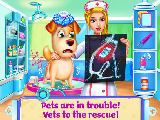 Doctor Fluff Pet Vet - Animal ER simulator screenshot 8