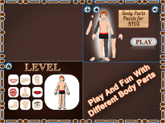 Human Body Part Puzzle For Kids screenshot 5
