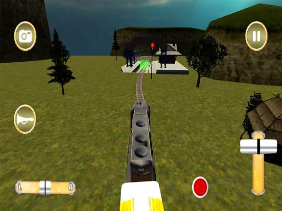 Train Racing Simulator : Bullet Racer 2016 screenshot 5