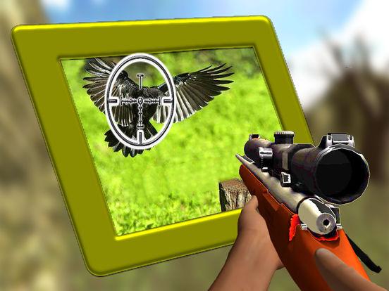 Forest Crow Hunting : 3D Birds Sniper Kill Shot screenshot 6