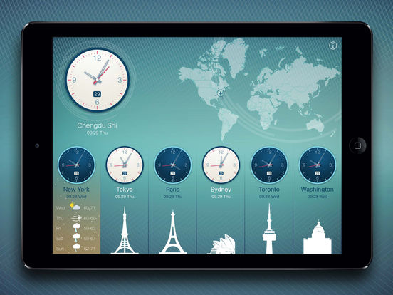World Clock 2 screenshot 9