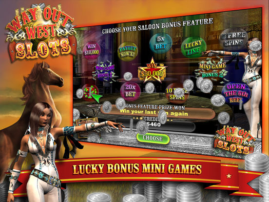 Way Out Wild West Slots screenshot 7