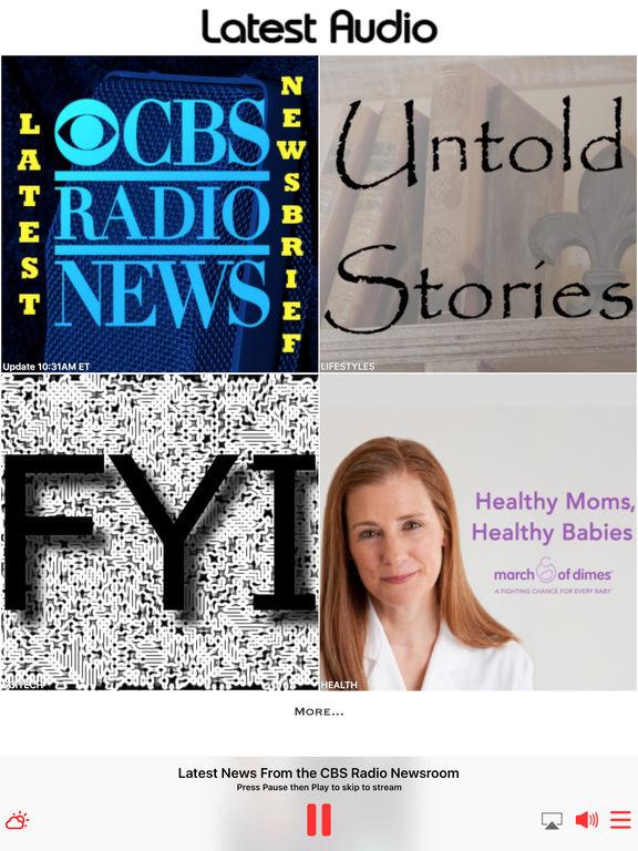 CBS Radio News screenshot 7
