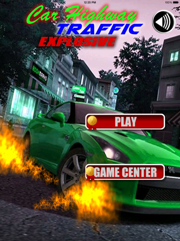 Car Highway Traffic Explosive - A Fiery Race screenshot 6