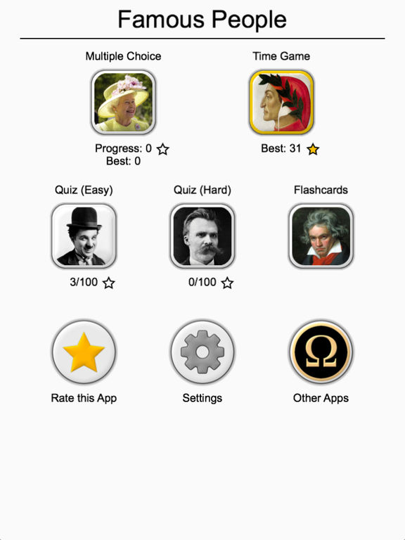 Famous People - History Quiz screenshot 8