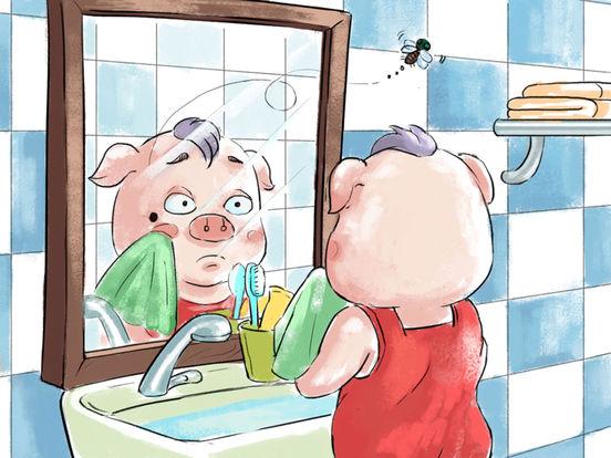 《小猪照镜子》经典绘本有声故事 screenshot 9