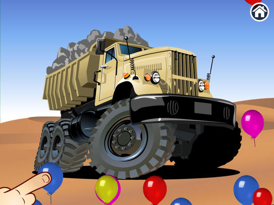 Trucks - Connect Dots for preschoolers screenshot 7