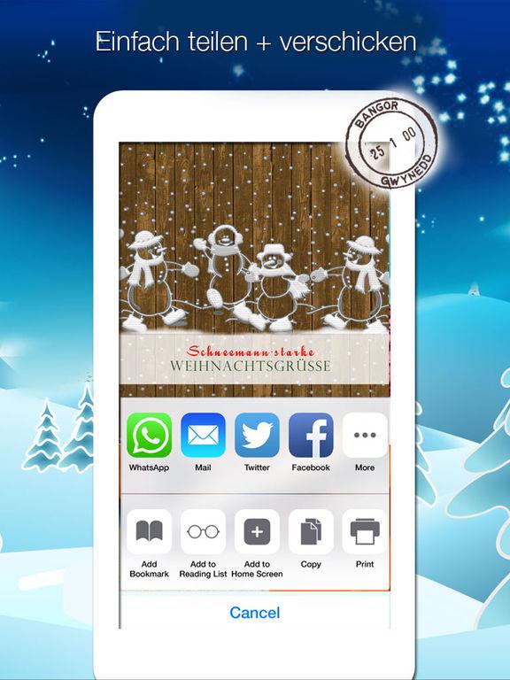 Weihnachtskarten - Weihnachtsgrüße verschicken screenshot 7