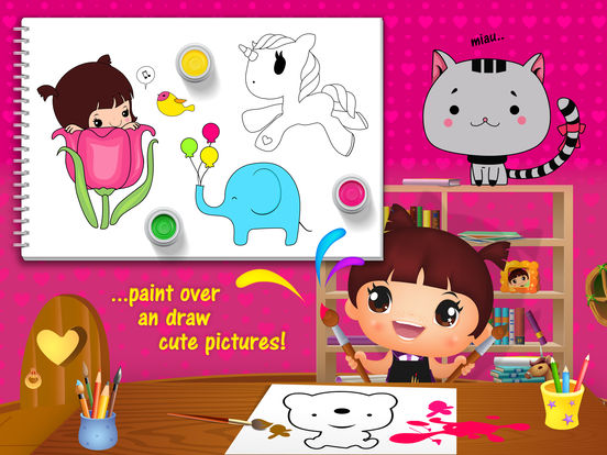 Sweet Little Emma Playschool 2 - Dream PreSchool screenshot 7