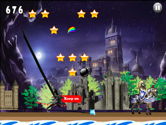 A Dark Wizard Jump - Magic With Air Race screenshot 10