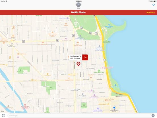 McDonald's McRib Finder screenshot 5