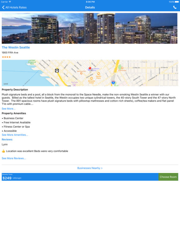i4seattle - Seattle Hotels, Yellow Pages Directory screenshot 8