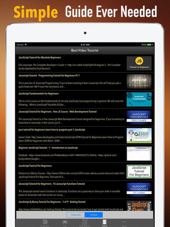 JavaScript for Beginners-Certified and Programming screenshot 7