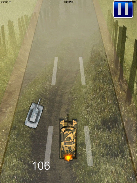 Crazed Speed Of Tanks - A Iron Tank Game screenshot 7