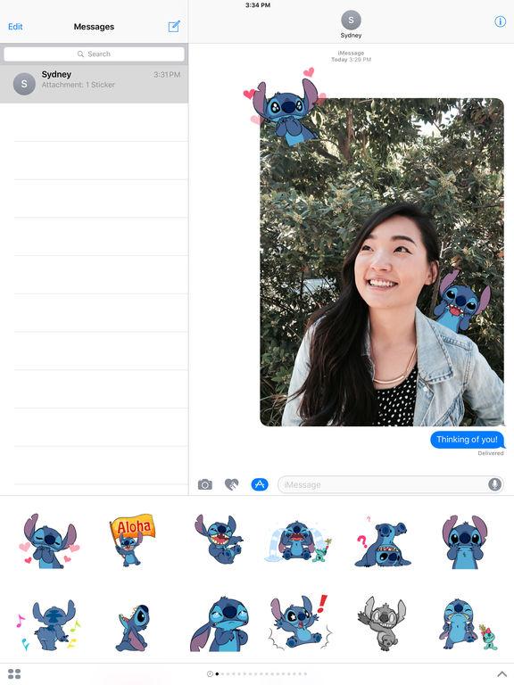 Disney Stickers: Stitch screenshot 5