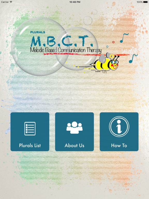 Melodic Based Communication Therapy - Plurals screenshot 6