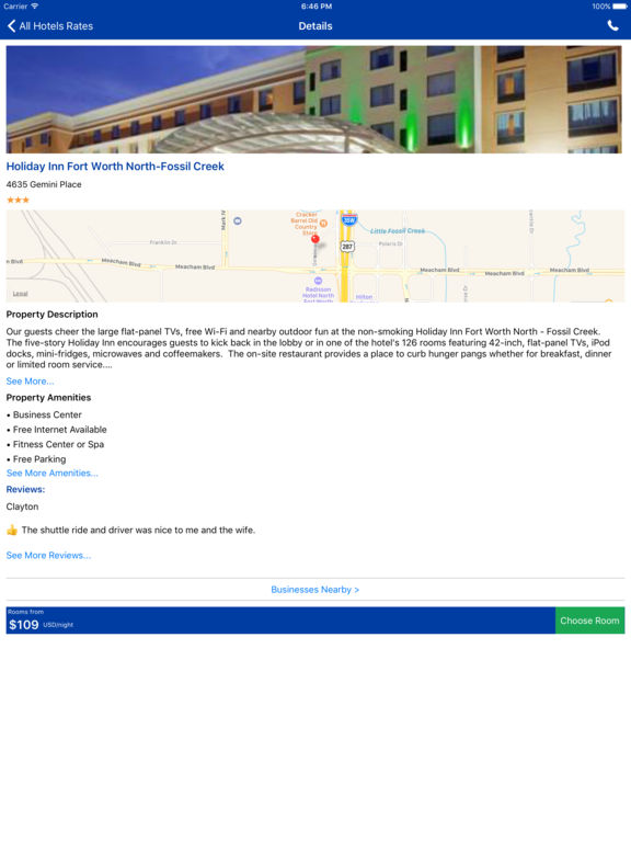 i4fortworth - Fort Worth Hotels & Yellow Pages screenshot 8