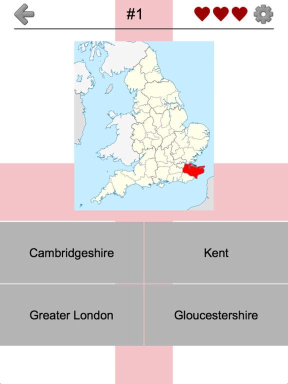 Counties of England Quiz screenshot 6