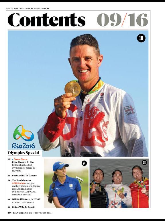 Golf Digest India screenshot 7