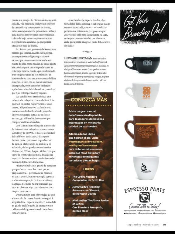 Revista Roast México screenshot 8