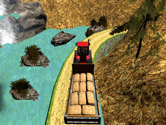 Mountain Hill Tractor Trolly : Subway Load-er Sim screenshot 4